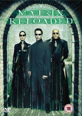 The Matrix Reloaded DVD