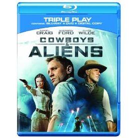 Cowboys and aliens blu-ray DVD digital copy