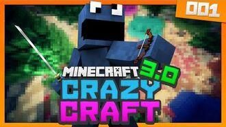 Minecraft Crazy Craft 3 - Ep 1 - A NEW BEGINNING