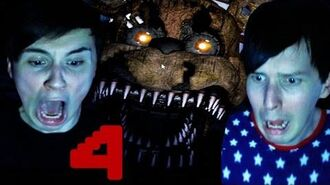 Dan and Phil Play FIVE NIGHTS AT FREDDY'S 4