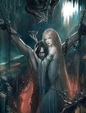 Sigyn and Loki