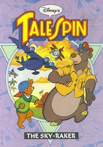 File:TaleSpin The Sky-Raker TPB.jpg