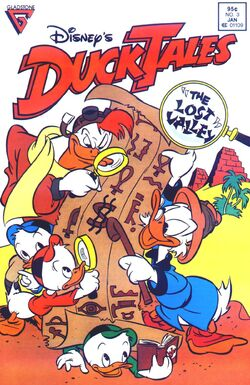 DuckTales Gladstone Issue 3