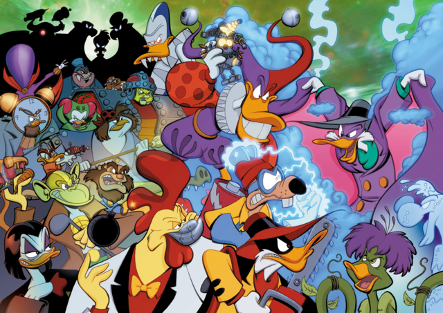 File:DarkwingDuck Definitively Dangerous Edition full cover art.png