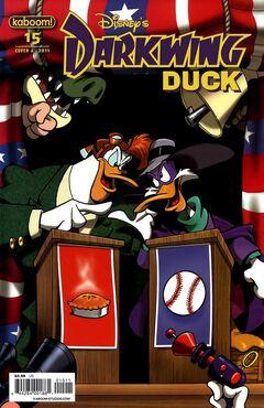 Darkwing Duck Issue 15A