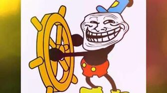 Mickey mouse troll face song-0