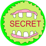 Badge mouth