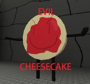 Evil cheesecake!!!