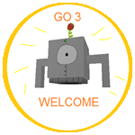 Badge go3welcome