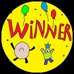 Badge Win