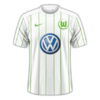 Wolfsburg 2016–17 away