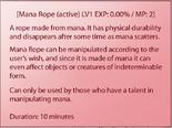 Mana Rope