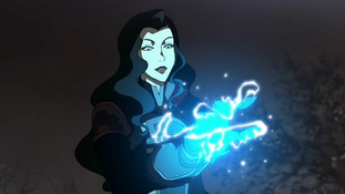 Iris with an electrifying glove