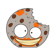 Pukey Cookie Gray