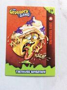 Tasteless tart collector card