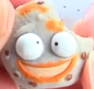 Pukey Cookie Gray Figure