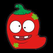 Rot Hot Chili Red