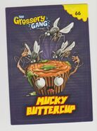 Mucky buttercup sticker card