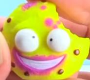 Pukey Cookie Yellow Figure