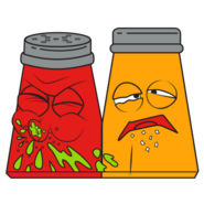 Snot N Pepper Red Orange