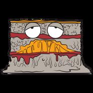 Lumpy lasagne 1