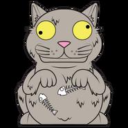 Cruddy cat 1