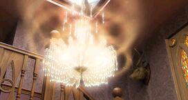 Glowing Chandelier