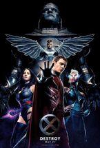 X-Men: Apocalypse 2016 DVD Cover Poster Storm Ororo Monroe Alexandra Shipp House of Anubis Drumline Straight OUTTA Compton