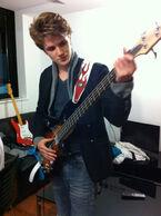 Eugene on bass