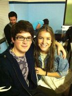 Brad (Fabian) and Nat (Nina)