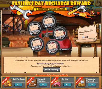 Father's Day Rechange Reward