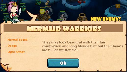 Mermaid warriors