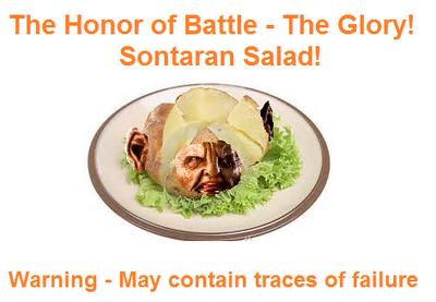 Sontaran Salad