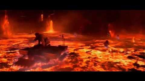 Star Wars III - Anakin V Obi-Wan Final Battle
