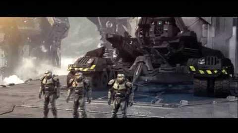 Halo Wars Spartans Vs Elites Cutscene (Spoiler)-0
