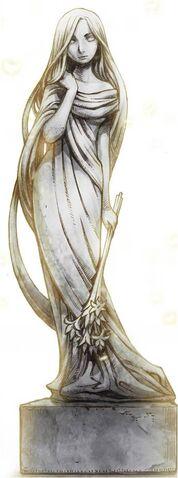 File:Baran Village Goddess Statue (Goddess Freya).jpg