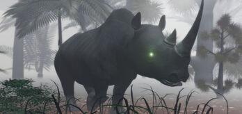 Giant rhino undead