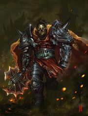Orc death knight by nkabuto-d3e7gsh