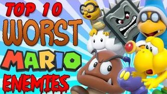 Top 10 Worst Mario Enemies!-0