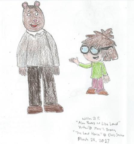 File:Alan (The Brain) Powers meats Lisa Loud.png