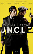The Man from U.N.C.L.E. (film) poster