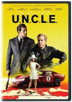 The Man from U.N.C.L.E. (film) DVD front cover