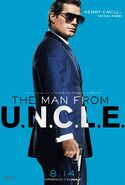 The Man from U.N.C.L.E. (film) poster 3
