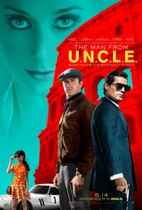 The Man from U.N.C.L.E. (film) poster 2