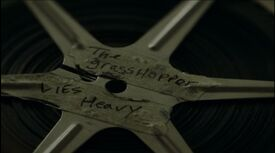 The Grasshopper Lies Heavy (film reel)