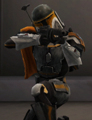Booster Skirata - Orange 01