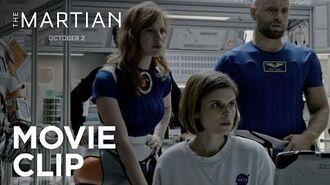 "The Martian ""Storm Report"" Clip HD 20th Century FOX"