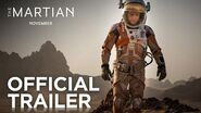 The Martian Official Trailer HD 20th Century FOX