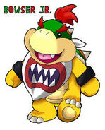 Cartoon Bowser Jr