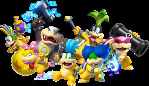 File:Koopalings, New Super Mario Bros. U.png